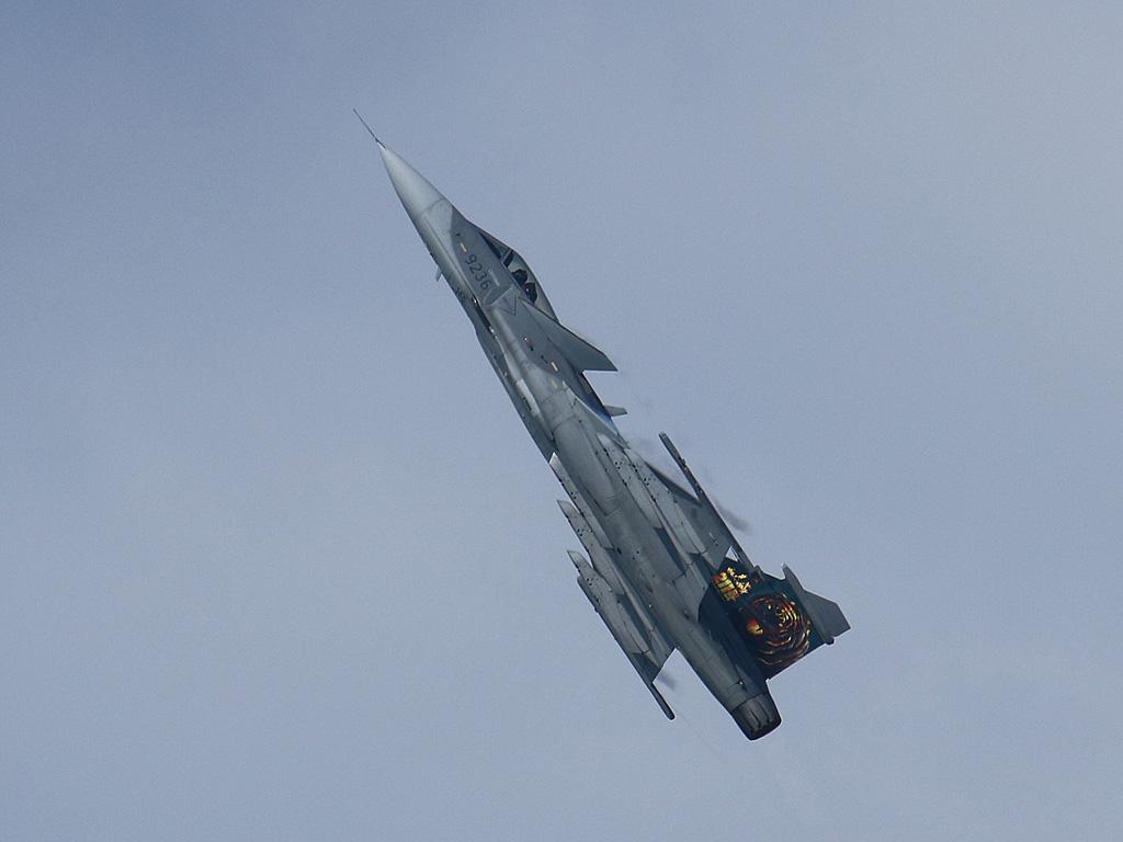 Tschechische Saab JAS-39C Gripen 9236 © Doppeladler.com