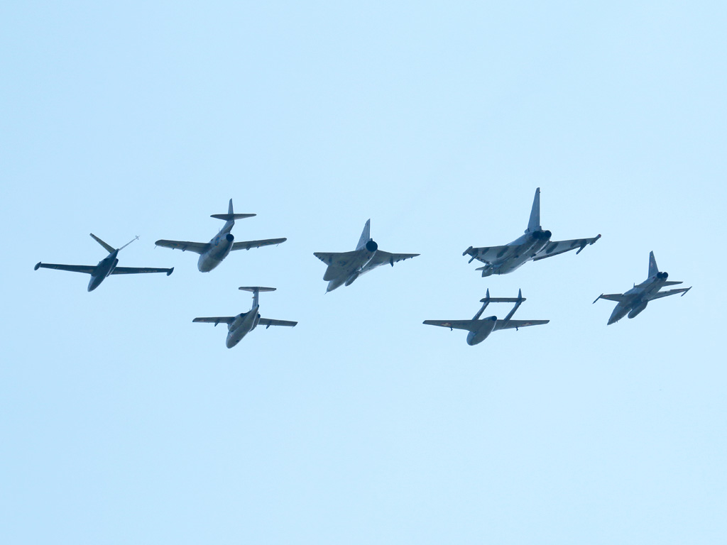 Histo-Formation aller Jet-Typen des Bundesheeres © Doppeladler.com