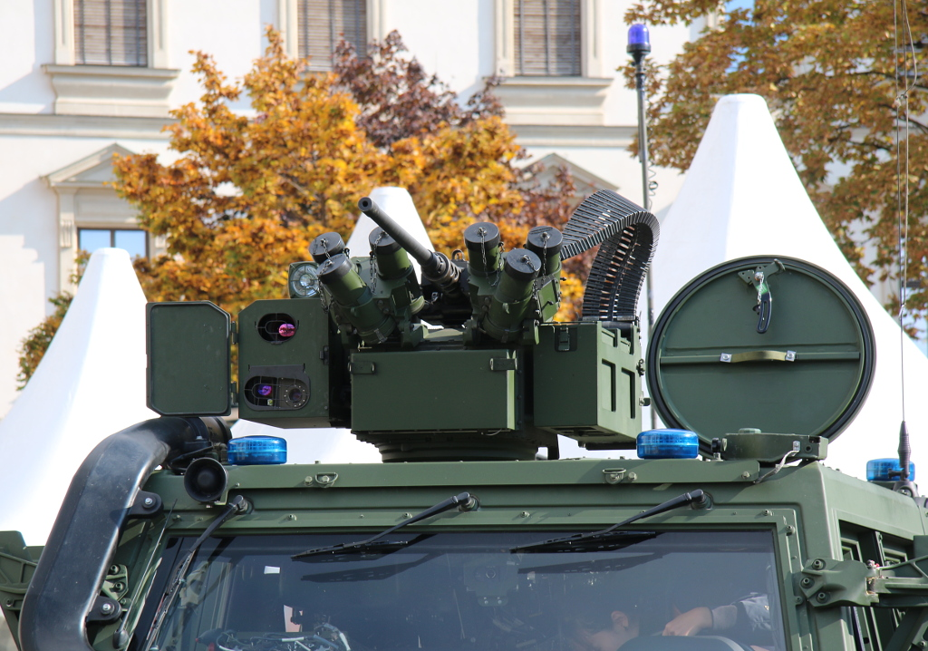 Waffenstation und Signalanlage des GMF Husar MP © Doppeladler.com