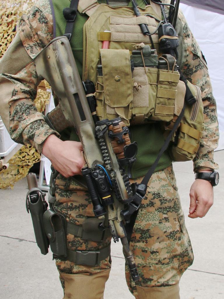 5,56 mm Sturmgewehr StG-77 A2 Kommando © Doppeladler.com