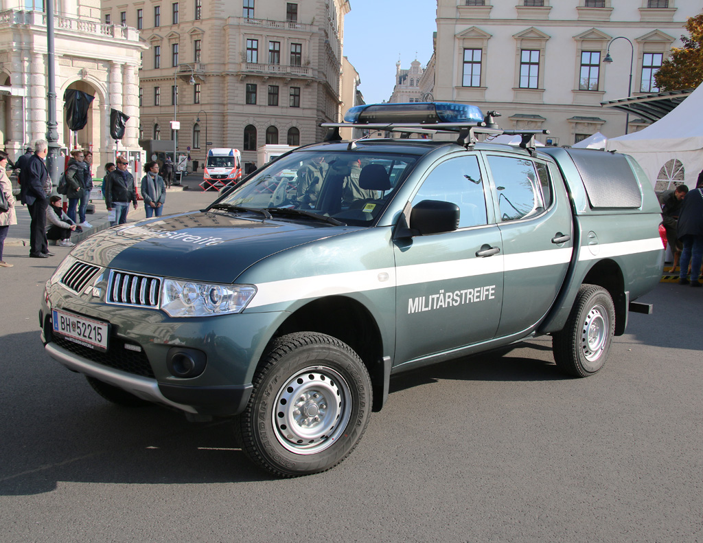 Mitsubishi L-200 Pickup der Militärpolizei © Doppeladler.com