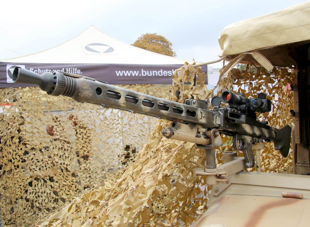 7,62 mm MG des Kommandanten der Sandviper © Doppeladler.com