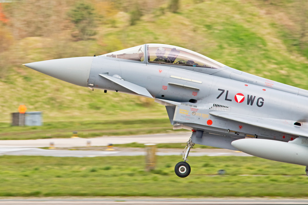7L-WG - Eurofighter Typhoon © Jaap Zwagemaker