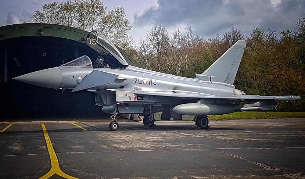 Eurofighter Typhoon 7L-WJ in Wittmundhafen © Mick Balter