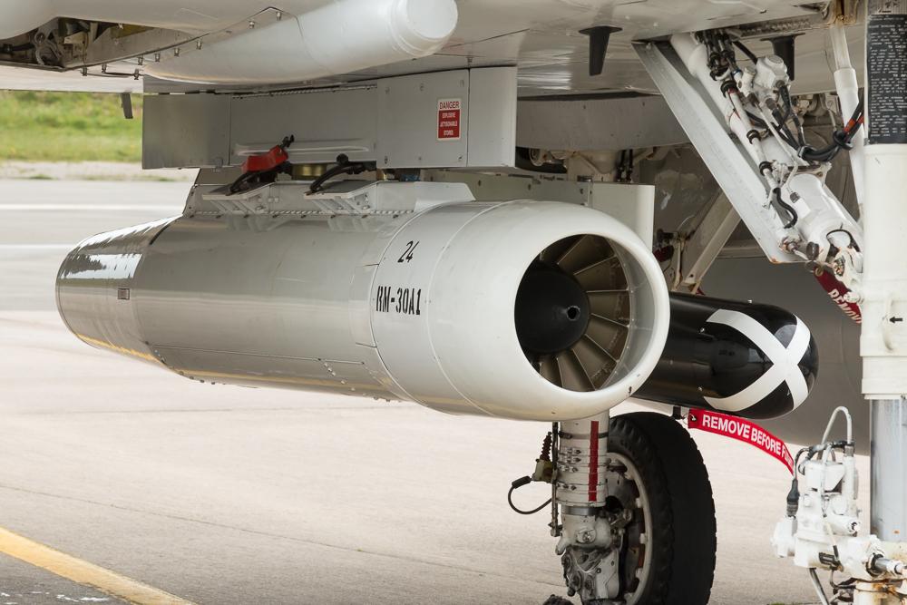 RM-30A1 Winde für den Schleppsack unter dem Skyhawk © EaZy Aviation Photography