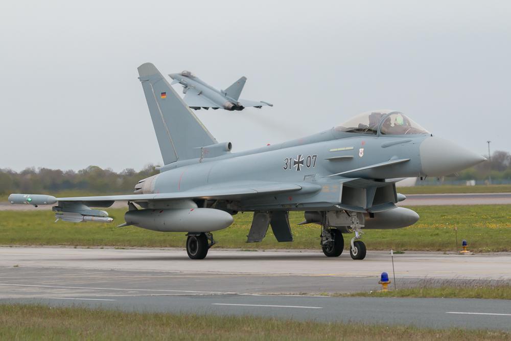 31+07 - Eurofighter Typhoon der Deutschen Luftwaffe © EaZy Aviation Photography