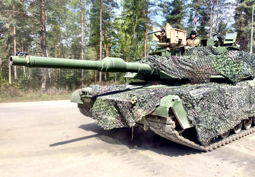 Kampfpanzer M1A2 SEP © US Army / 3rd BCT