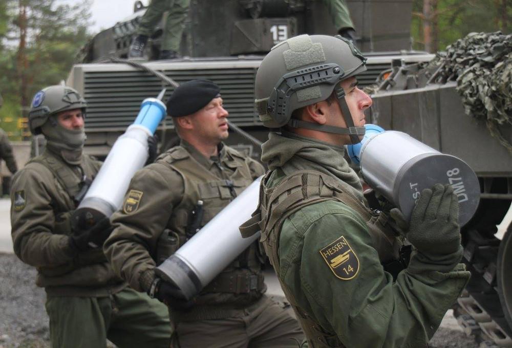 Munitionsaufnahme © US Army