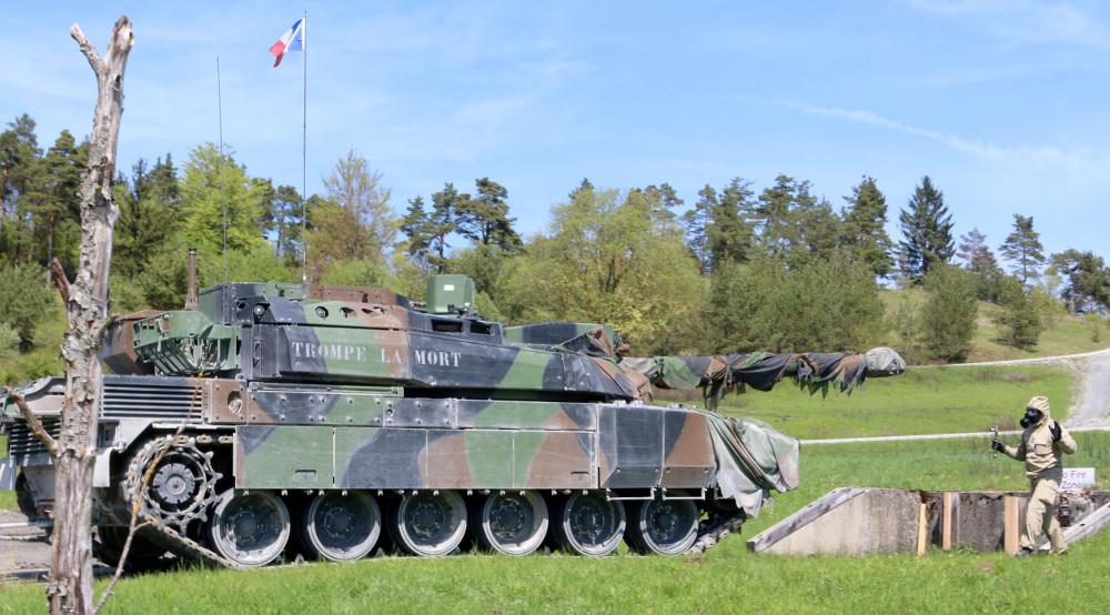 Das französische Team bei der ABC Übung © US Army