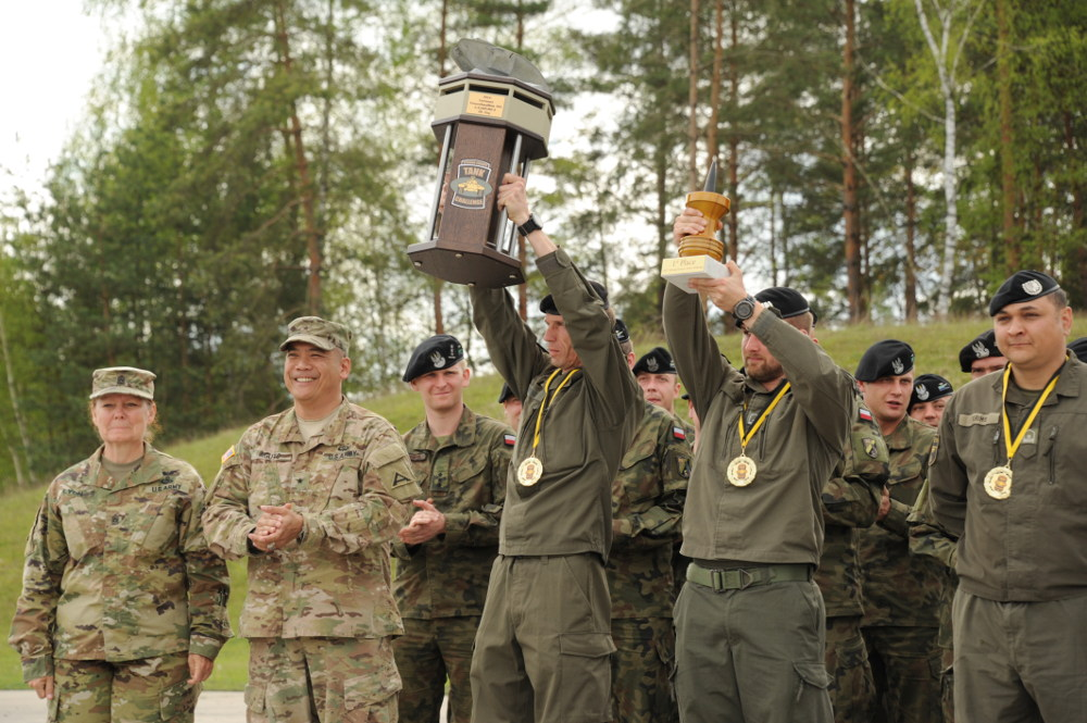 Team Österreich siegt überlegen und stemmt die SETC Trophy © US Army