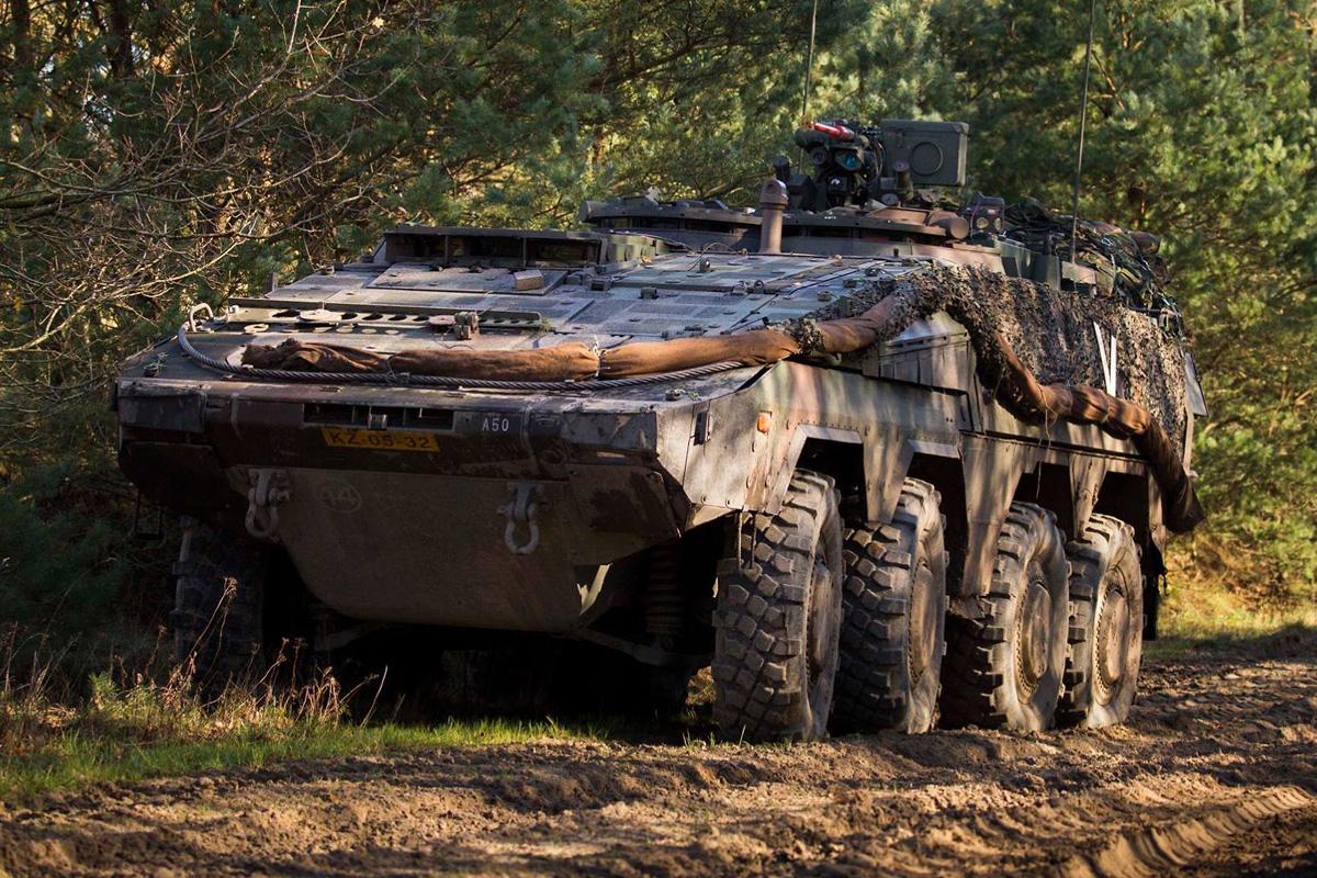 Mannschaftstransportpanzer Boxer 8x8 © Bundesheer