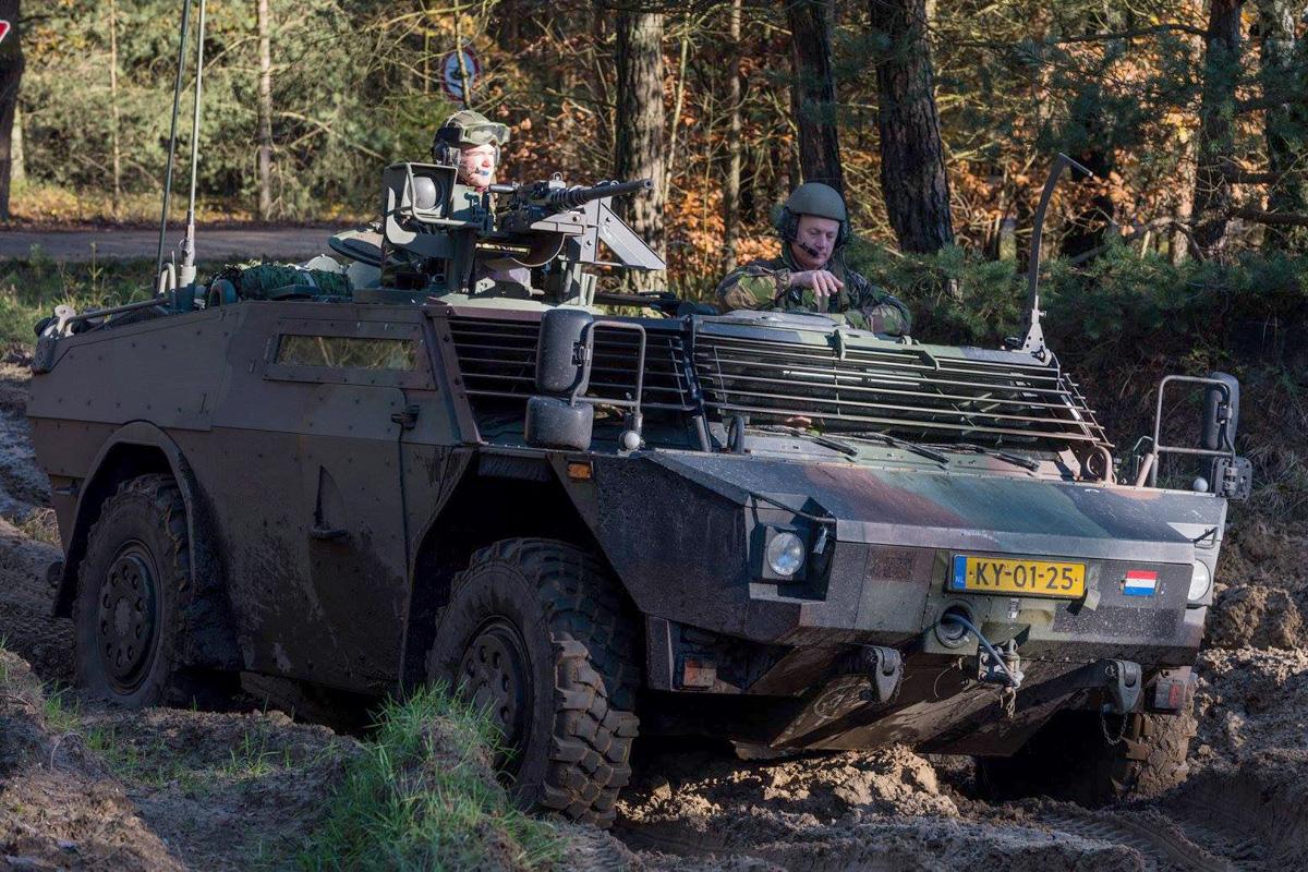 Spähwagen Fennek des niederländischen Kontingents © 13 Lichte Brigade