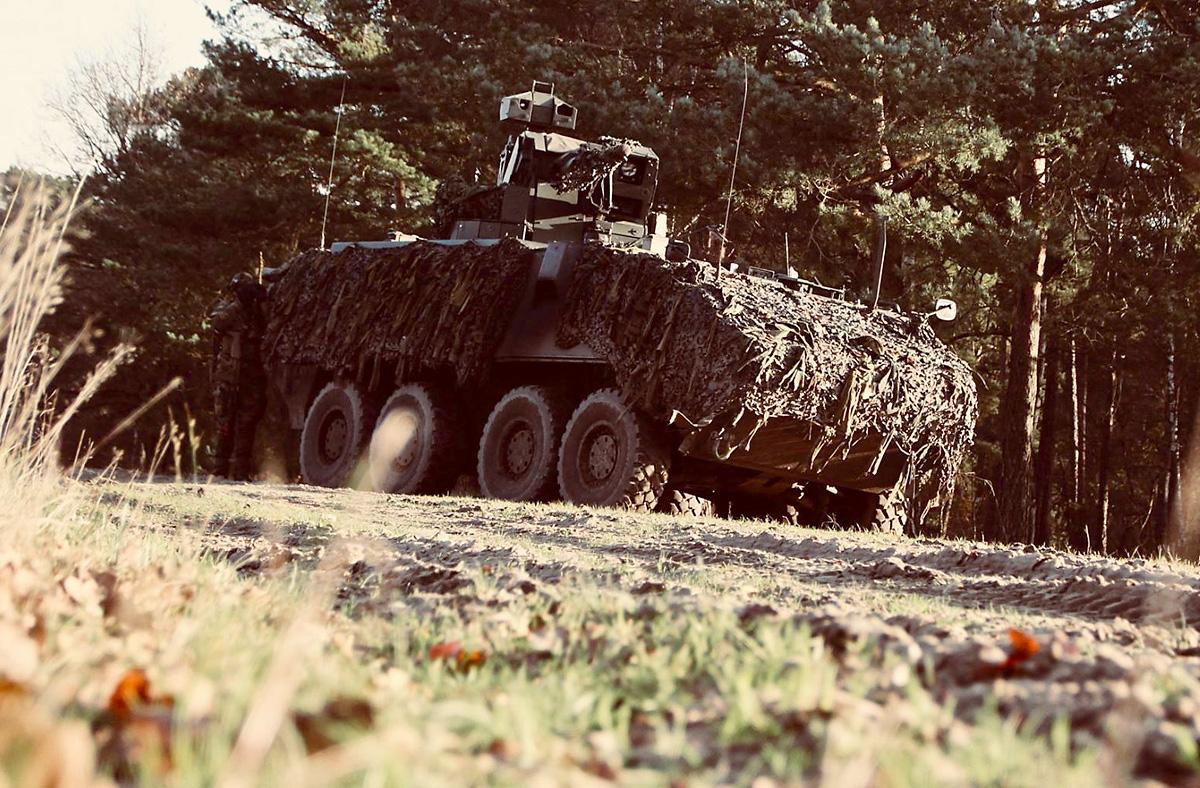 Belgischer Aufklärungspanzer MOWAG Piranha IIIC © Bataljon Bevrijding