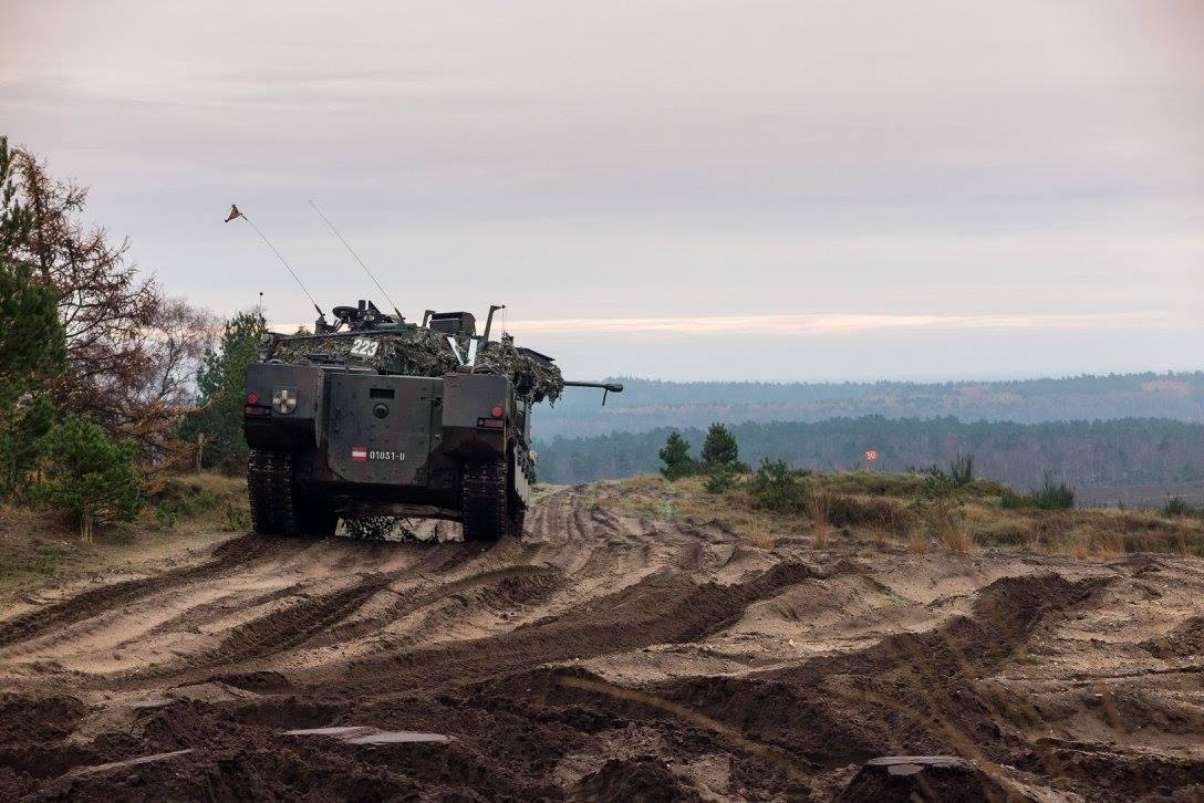 Schützenpanzer Ulan © 13 Lichte Brigade