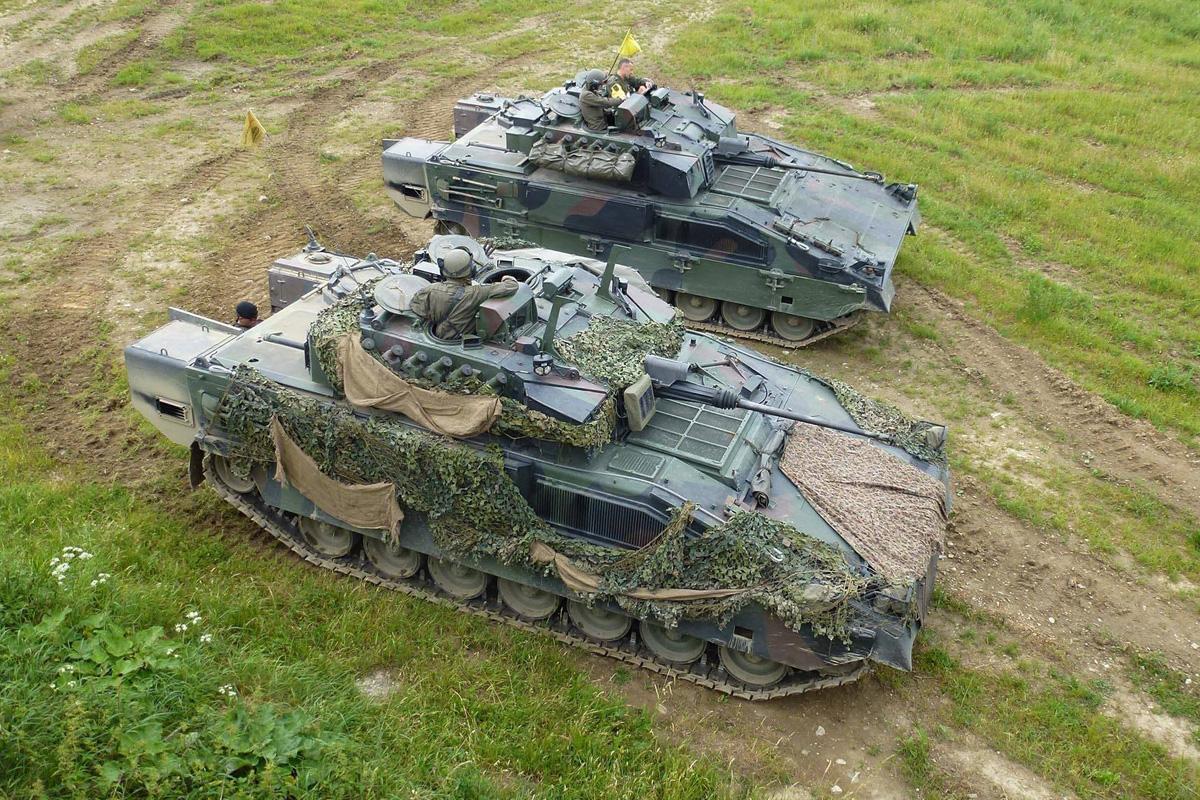 Schützenpanzer Ulan © Bundesheer