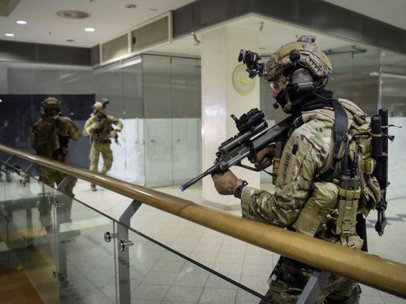 Soldaten des Jagdkommandos beim CJSOCT-Workshop © Bundesheer