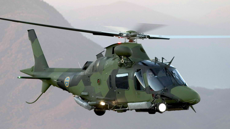AW109 LUH (Hkp 15A) der schwedischen Streitkräfte © Leonardo