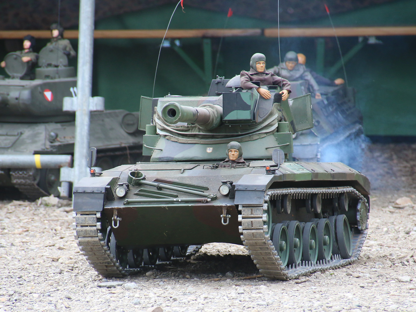Ferngesteuerter Jagdpanzer Kürassier A1 mit Benzinmotor © Doppeladler.com