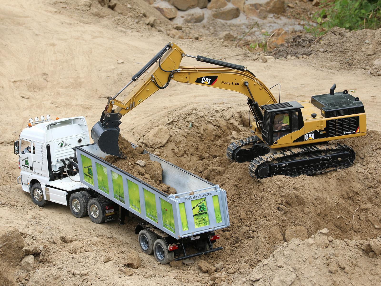 Die Modell-Baustelle © Doppeladler.com