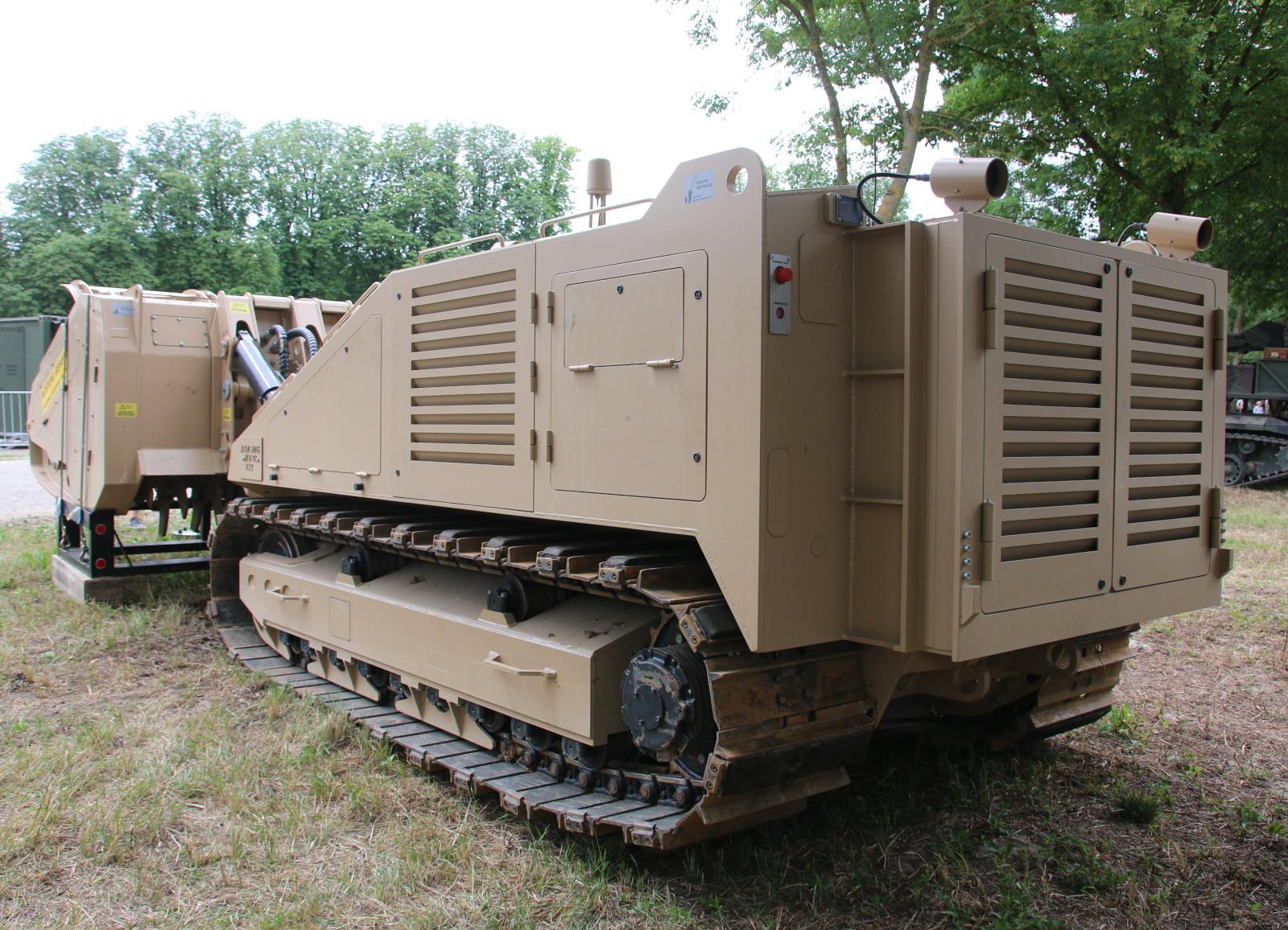 MV-10 ist deutlich größer als das beim Heer bereits eingeführte MV-4 des gleichen Herstellers © Doppeladler.com