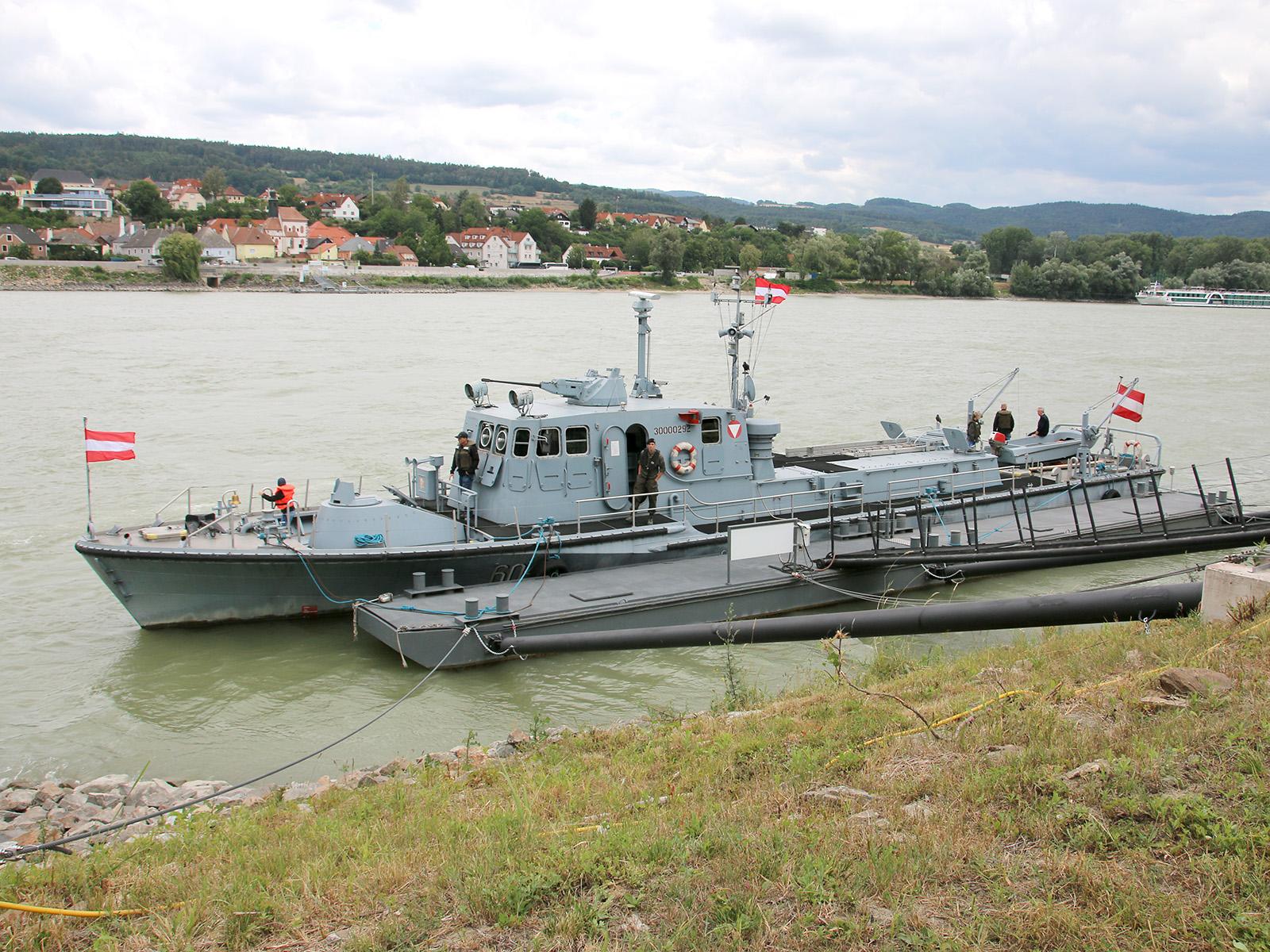 Die Marinekameradschaft Admiral Erzherzog Franz Ferdinand betreut das Patrouillenboot Niederösterreich für das HGM © Doppeladler.com