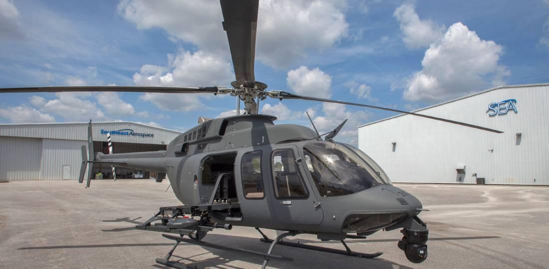 NorthStar Aviation NSA 407 MRH - ein ähnlicher Umbau wäre für den Bell 429 möglich © NSA