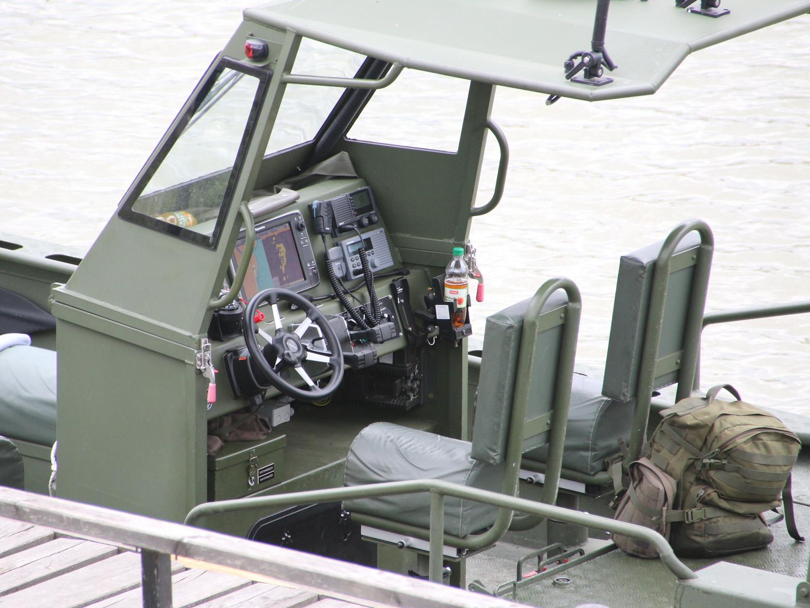 Sturmboot / Flachwasserboot Watercat M9 von Marine Alutech Oy Ab © Doppeladler.com