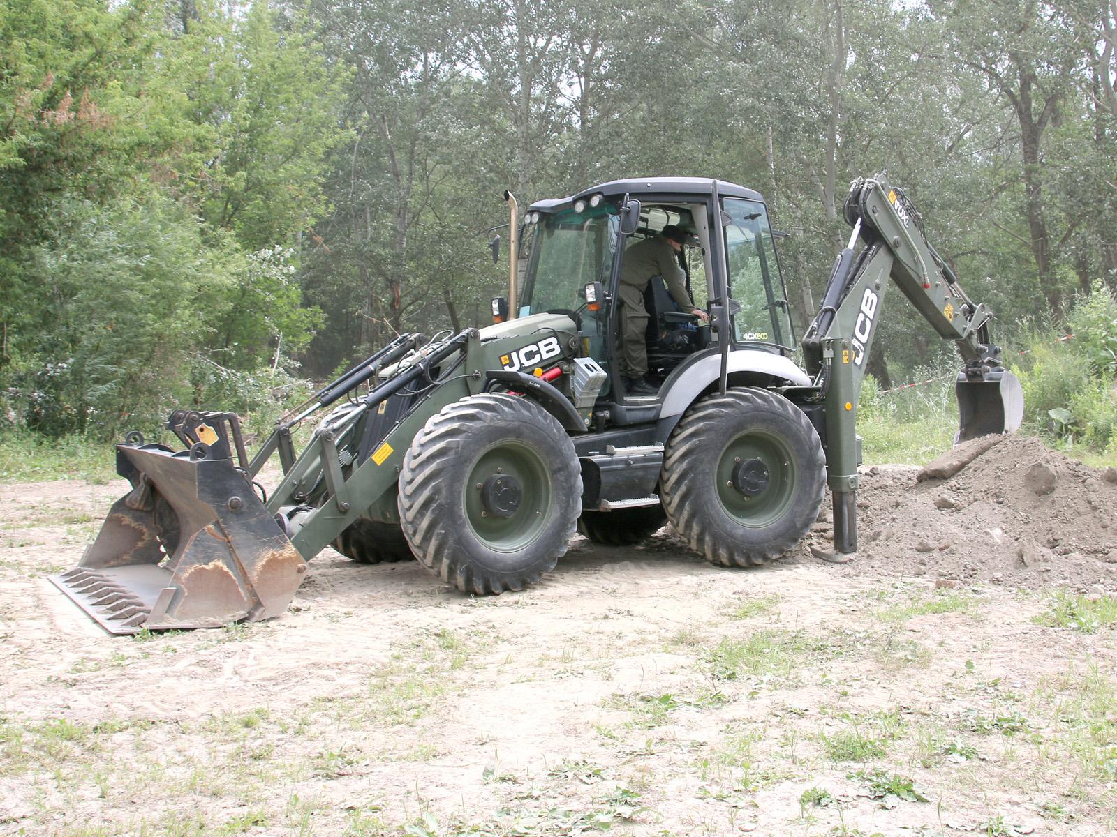 Baggerlader JCB Sitemaster 4CX Servo © Doppeladler.com
