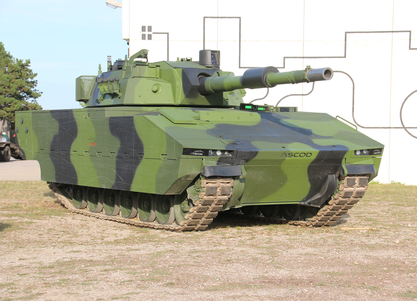 Prototyp des ASCOD Medium Main Battle Tank (Werk) © Doppeladler.com