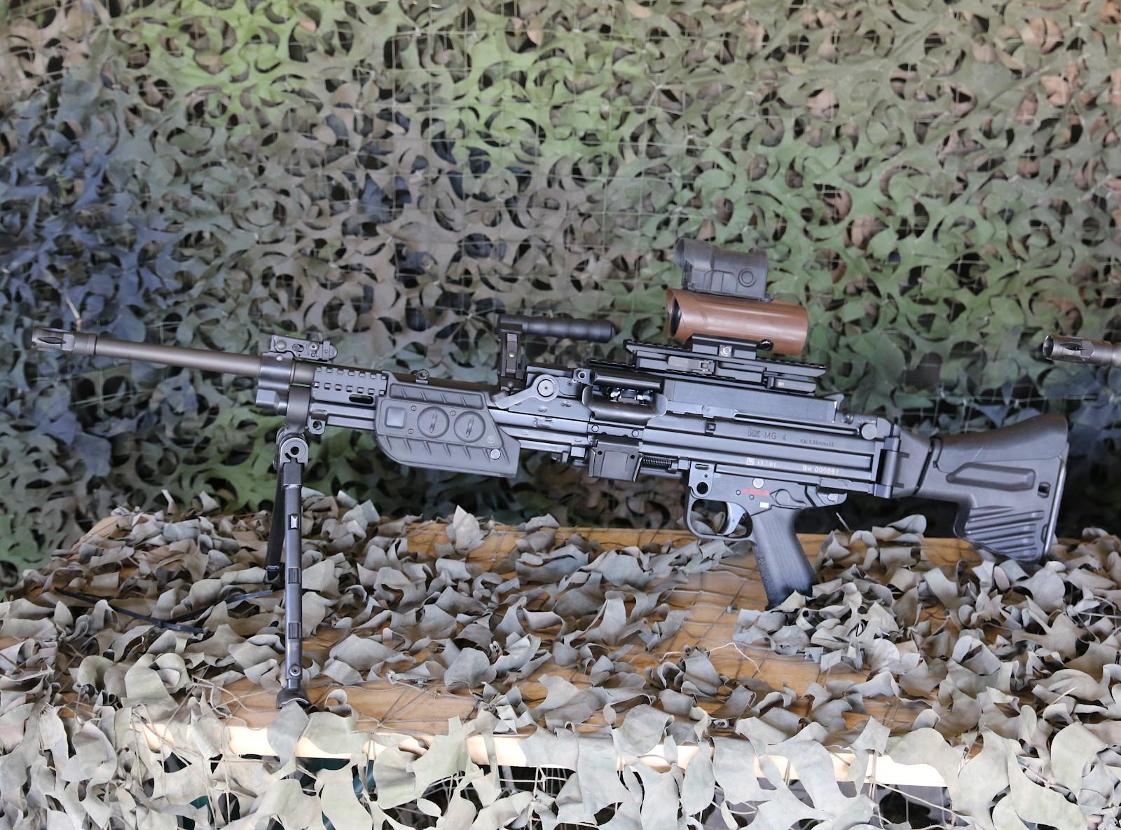 5,56 mm Maschinengewehr MG4 von Heckler & Koch © Doppeladler.com