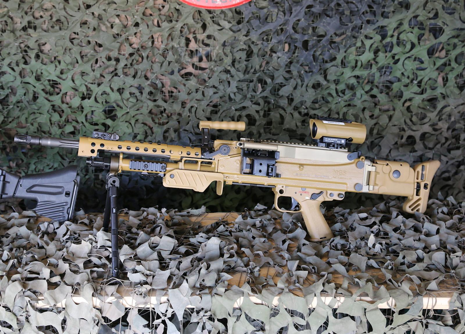 7,62 mm Maschinengewehr MG5 von Heckler & Koch © Doppeladler.com