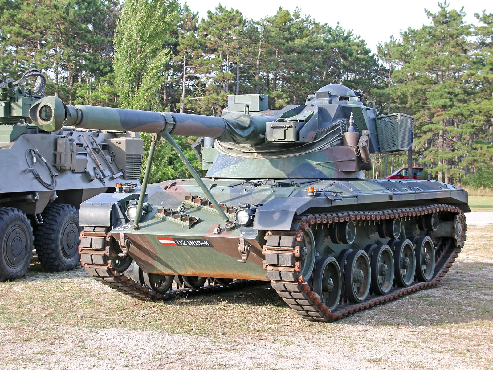 Außer Dienst: Jagdpanzer SK-105 Kürassier A2 © Doppeladler.com