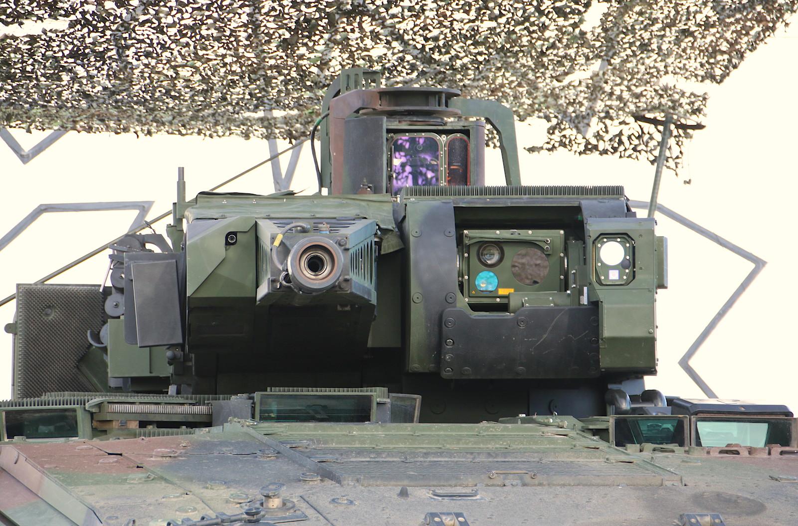 Der unbemannte Puma-Turm mit Maschinenkanone MK30-2/ABM © Doppeladler.com