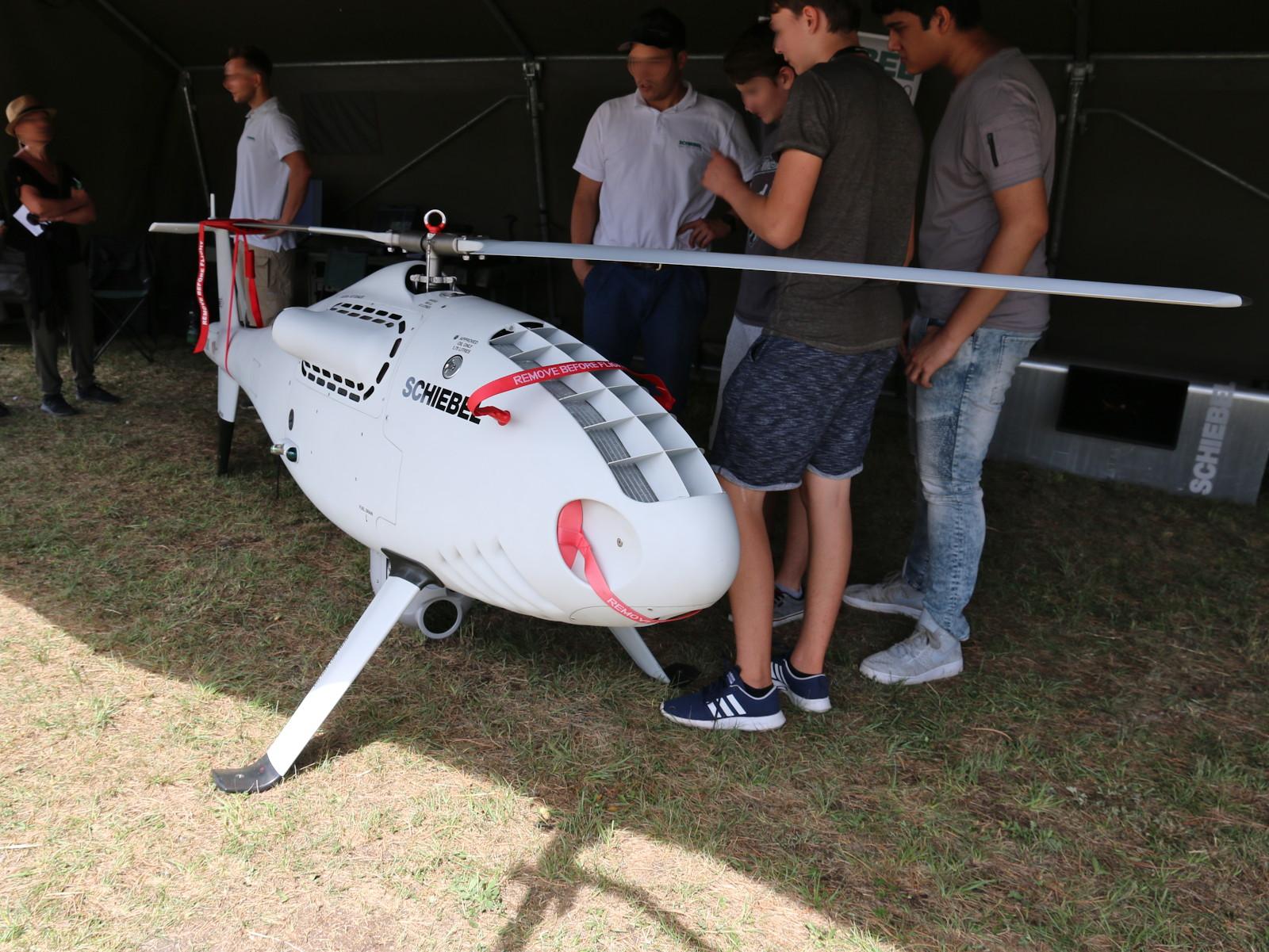 Der Schiebel Camcopter S-100 verkauft sich blendend. Das Bundesheer zählt leider nicht zu den Kunden © Doppeladler.com