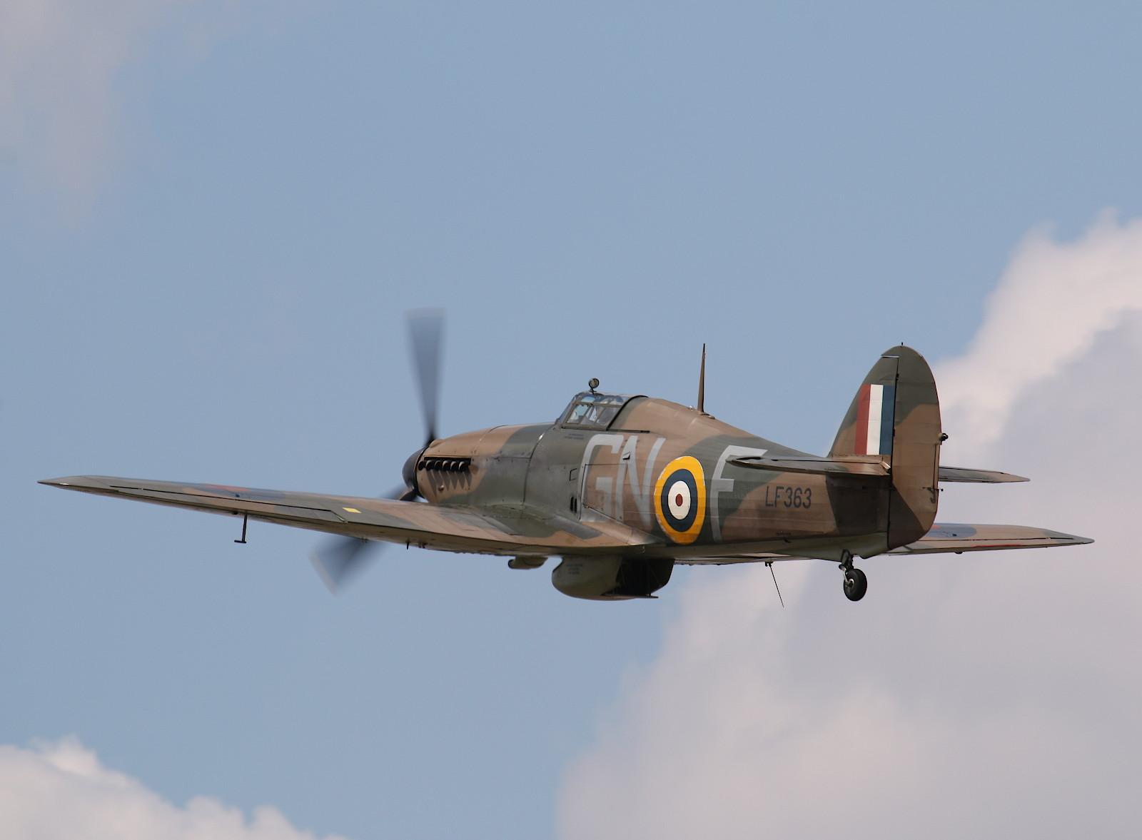 Hawker Hurricane IIC LF363 © Doppeladler.com
