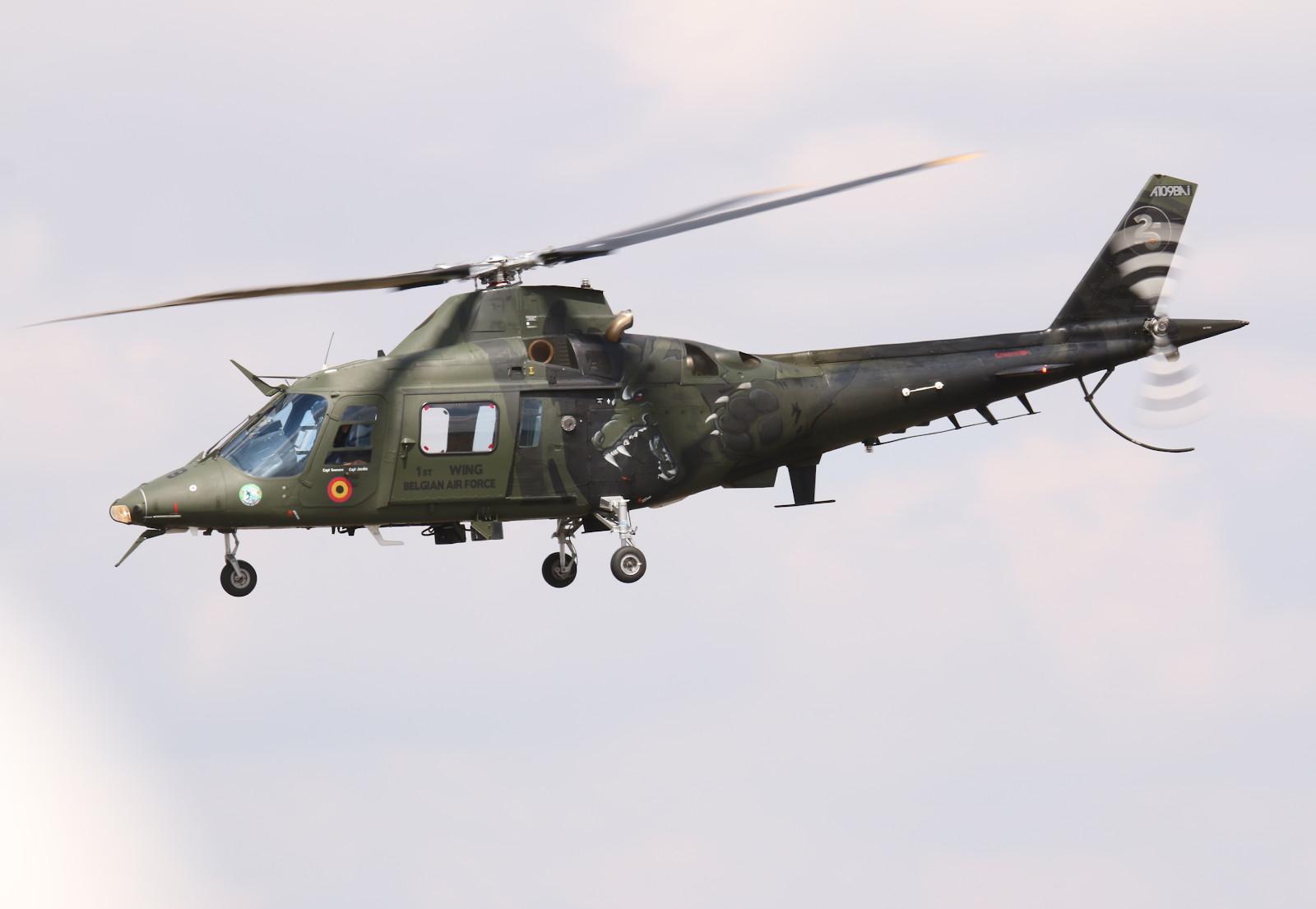 Agusta A109BA aus Belgien © Doppeladler.com