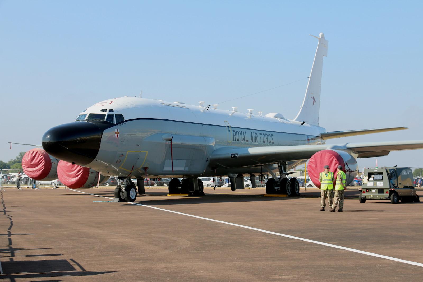 Boeing RC-135W Rivet Joint der RAF zur elektronischen Aufklärung © Doppeladler.com