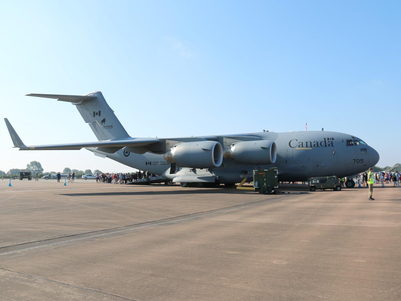 Boeing CC-177 Globemaster (C-17) aus Kanada © Doppeladler.com