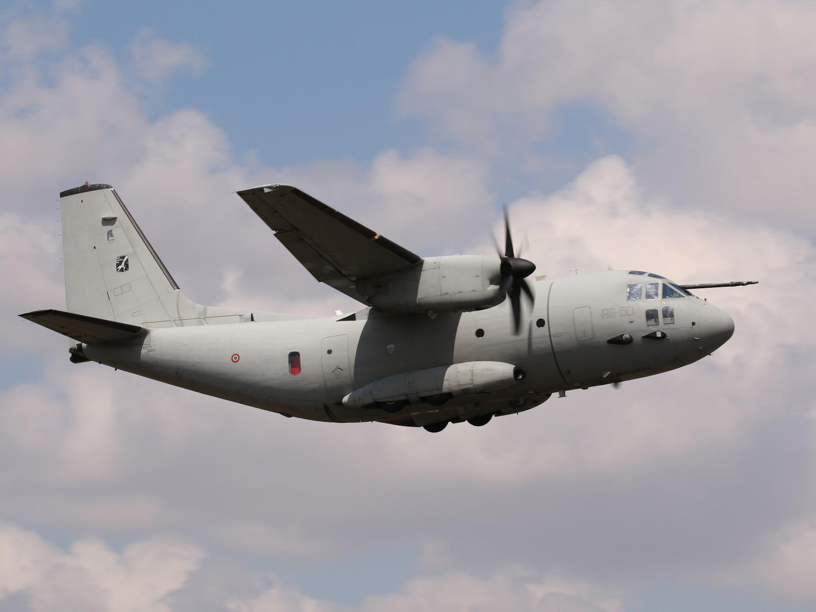 Alenia Aermacchi C-27J Spartan RS-50 © Doppeladler.com