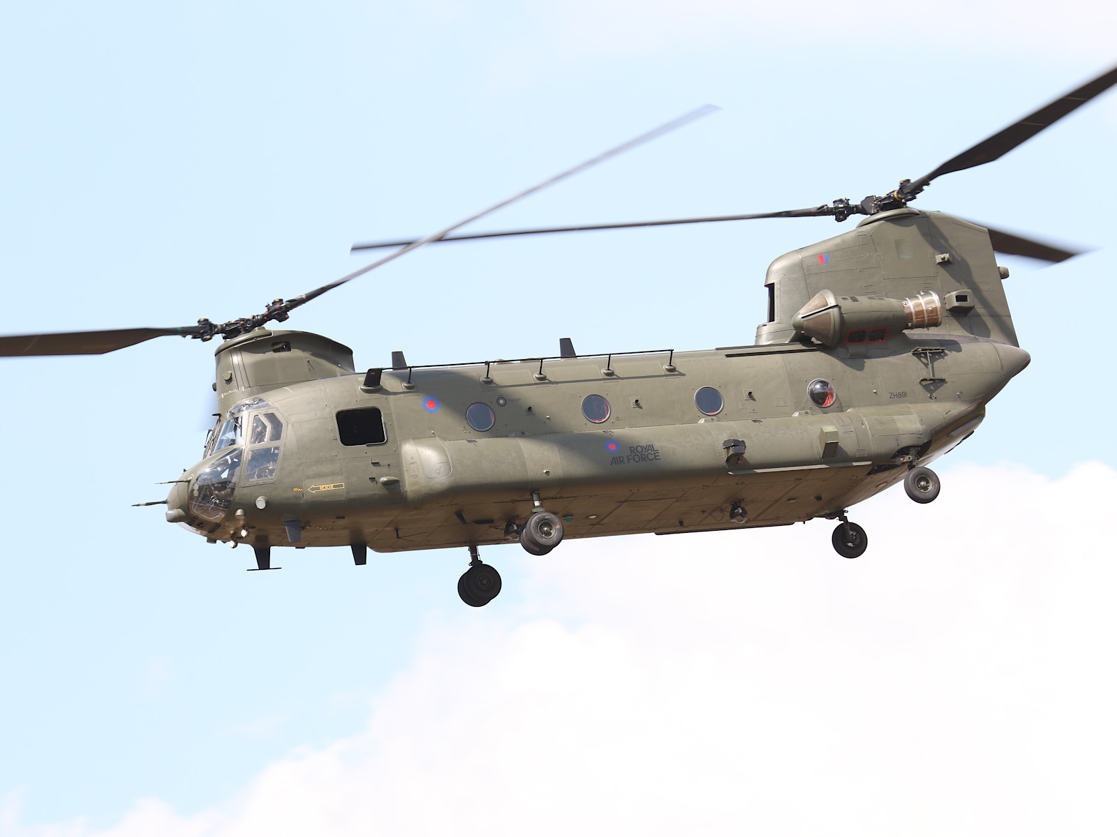 Boeing CH-47D Chinook (Chinook HC6A) ZH891 der Royal Air Force © Doppeladler.com