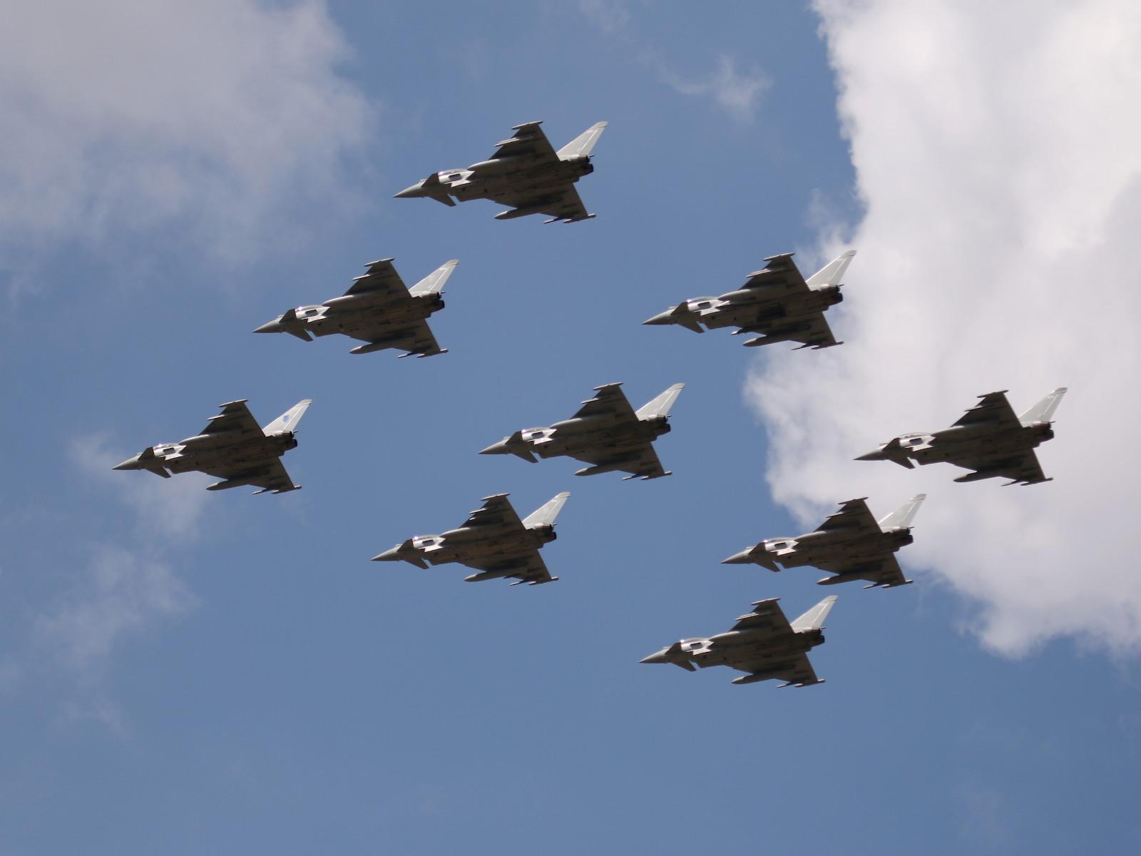 Eurofighter Typhoon der Royal Air Force © Doppeladler.com