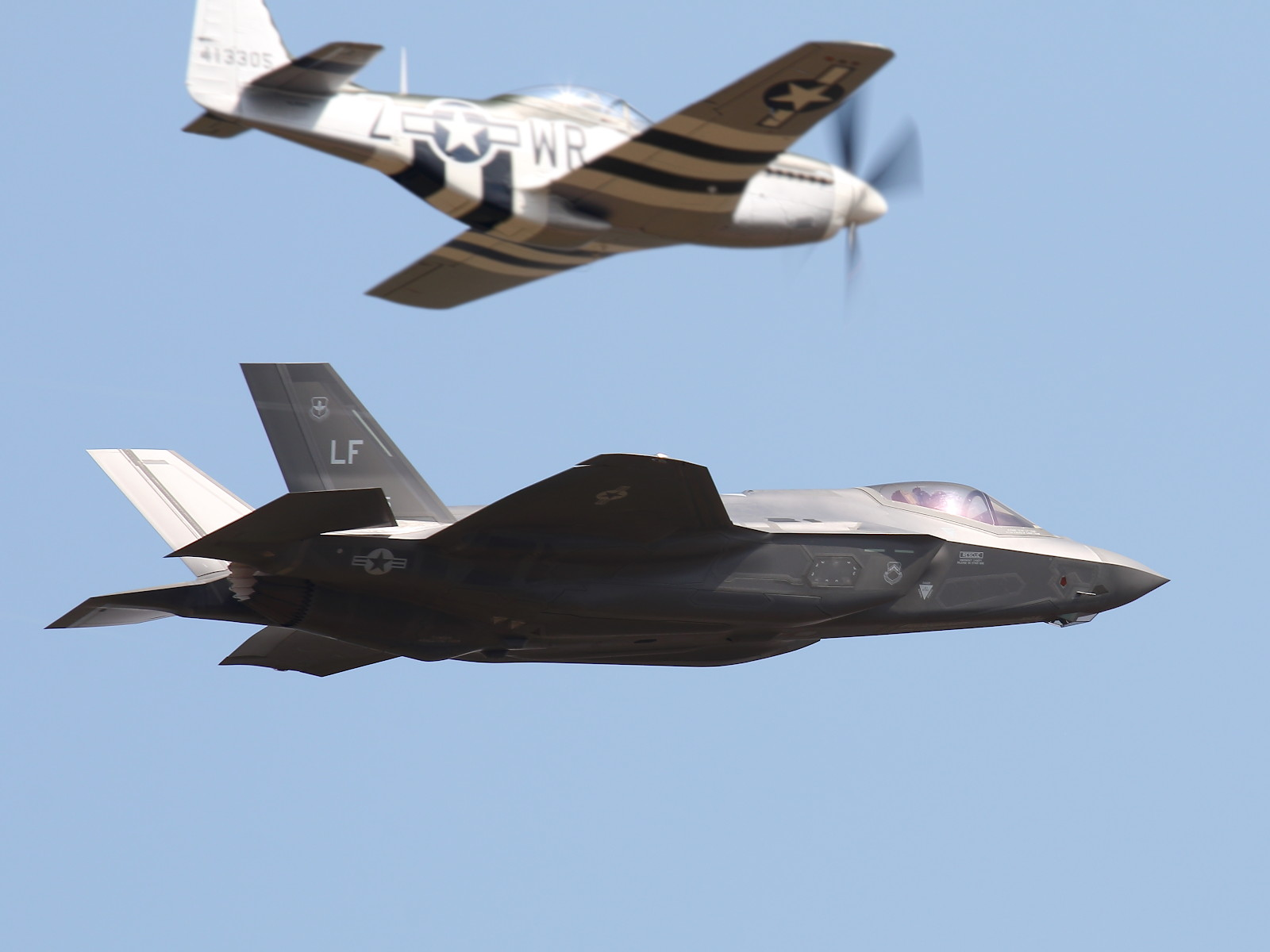 USAF Heritage Flight Team © Doppeladler.com