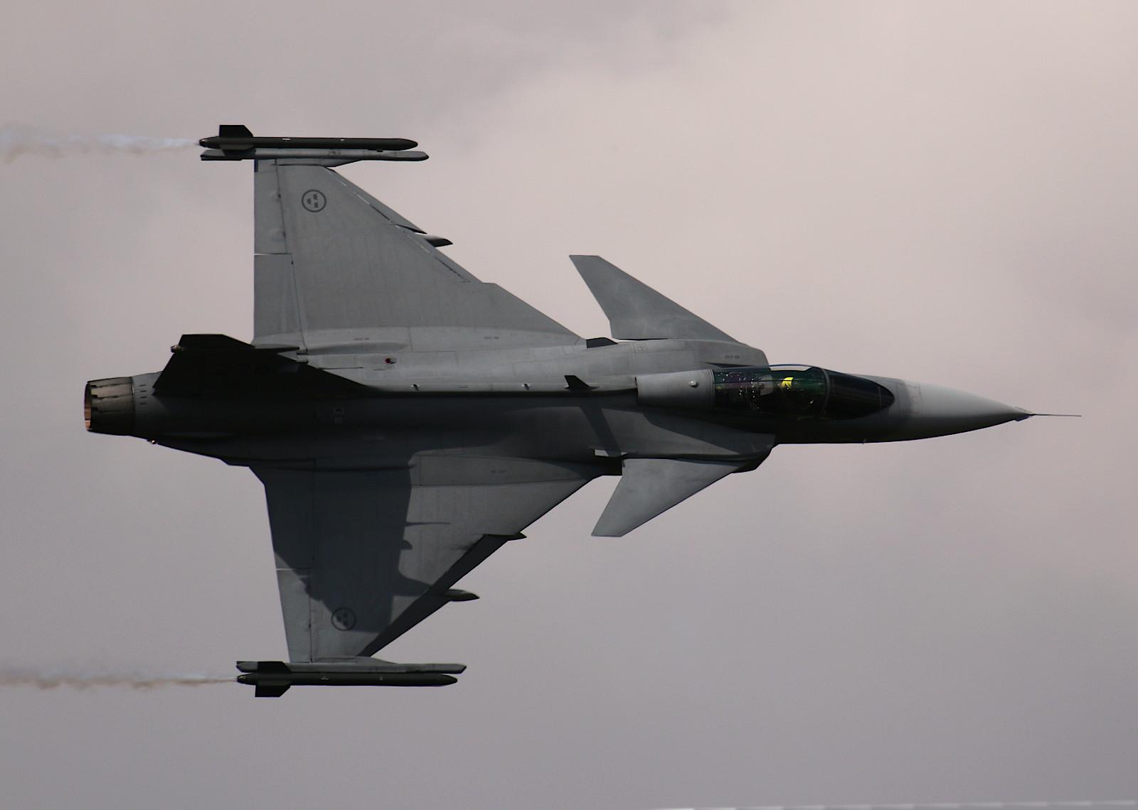 Saab JAS-39C Gripen 278 aus Schweden © Doppeladler.com