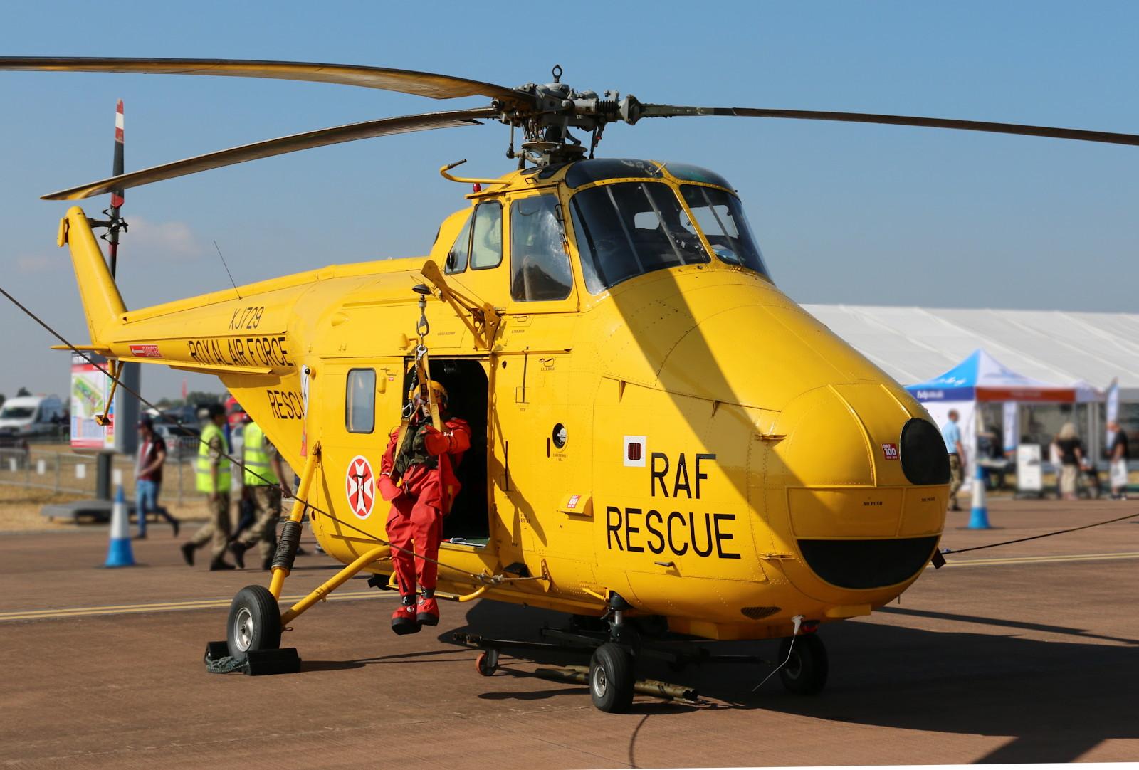 Westland Whirlwind HAR.2 SAR Hubschrauber XJ729 © Doppeladler.com