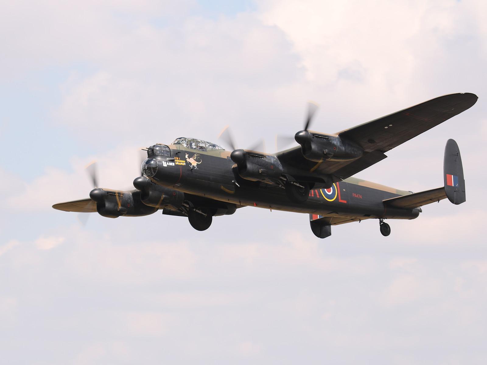 Avro Lancaster B.1 Bomber PA474 © Doppeladler.com