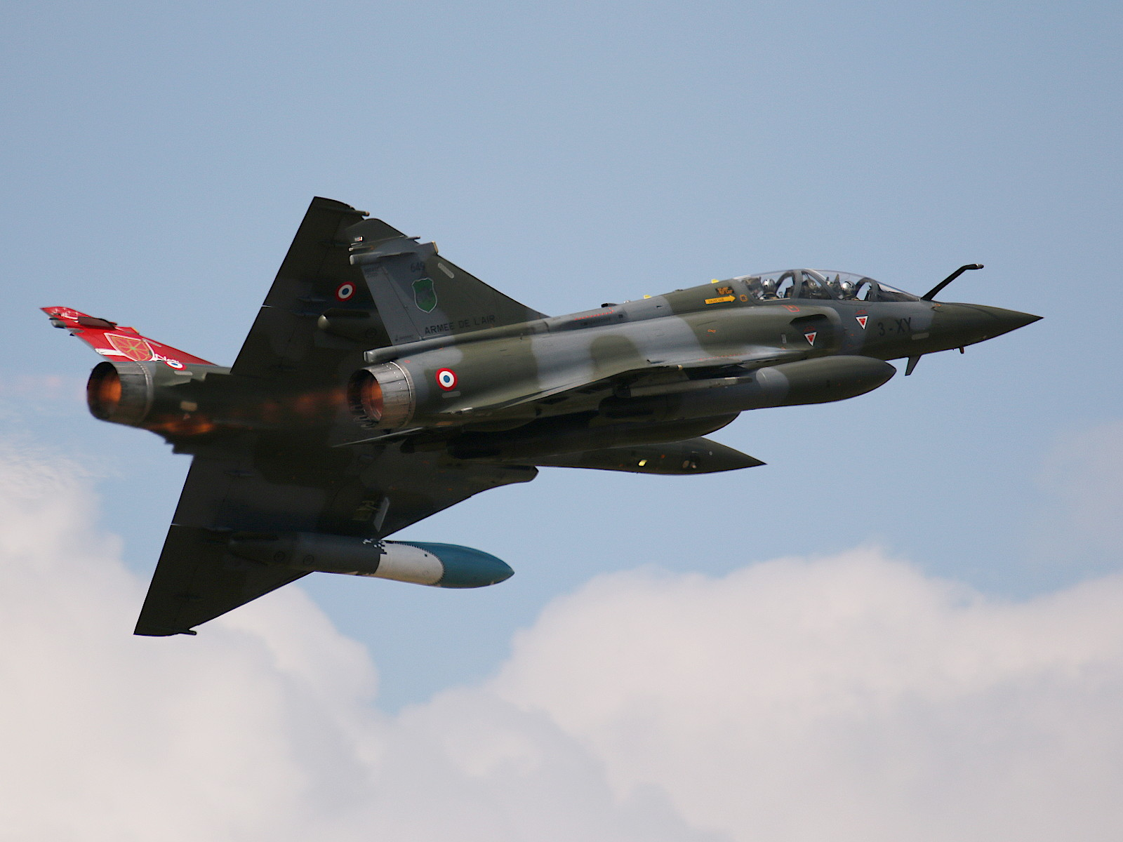 Dassault Mirage 2000D des Couteau Delta Display Teams © Doppeladler.com