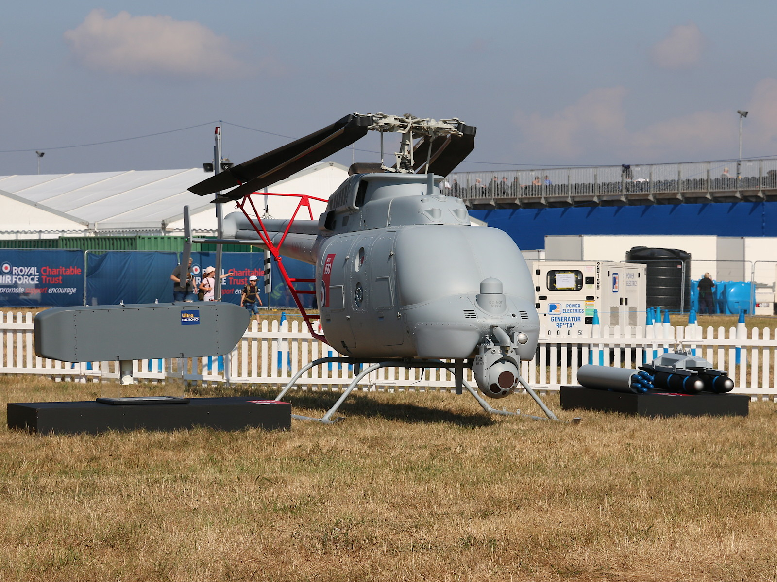 Northrop Grumman MQ−8C Fire Scout Drohne aus Point Mugu Naval Air Station der US Navy © Doppeladler.com