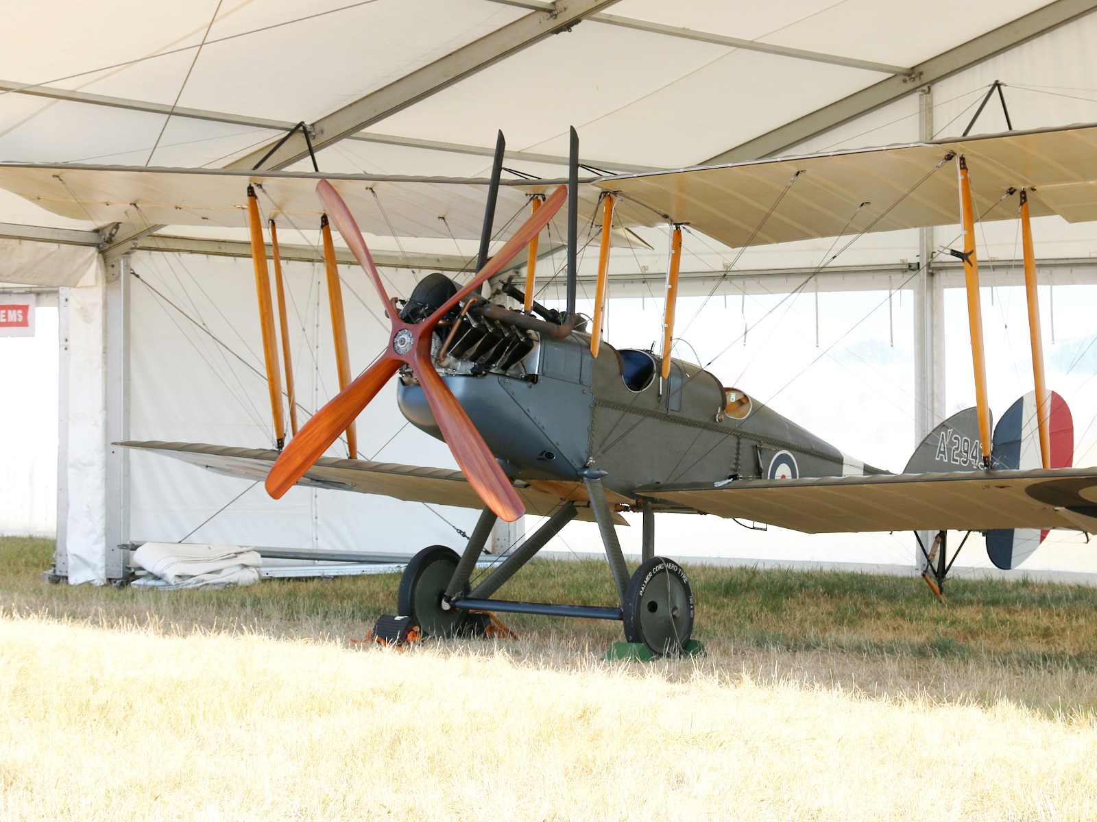 Royal Aircraft Factory BE2e Replica A2943 © Doppeladler.com