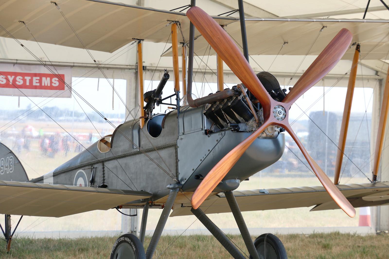 Royal Aircraft Factory BE2e Replica A2943 © Doppeladler.com