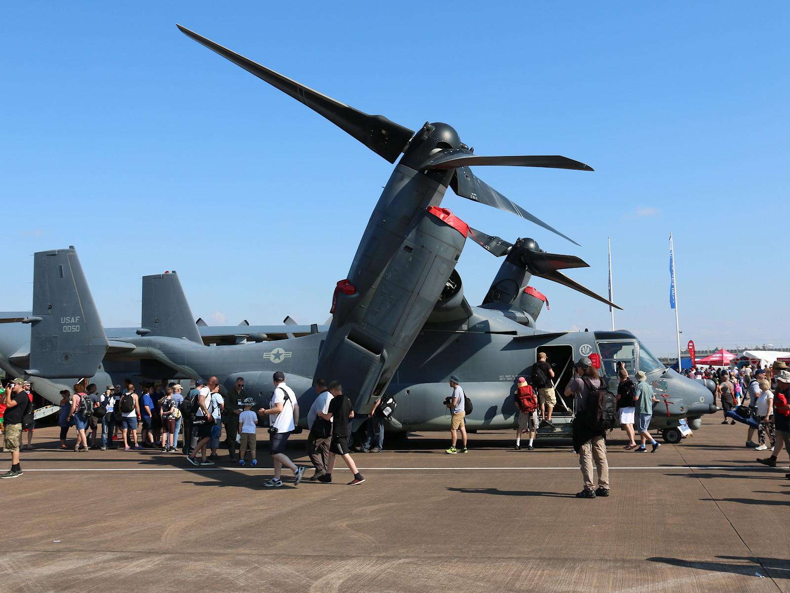 USAF Bell-Boeing CV-22B Osprey 08-0050. Leider aufgrund eines Defekts nur am Boden zu sehen © Doppeladler.com